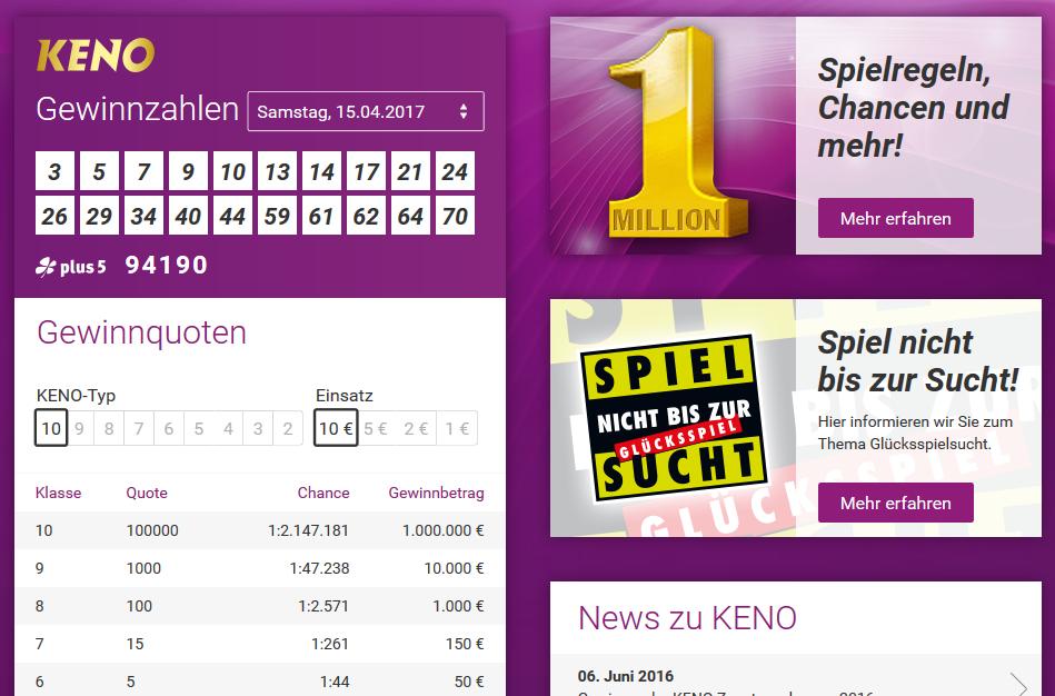Lotto.De Bearbeitungsgebühr